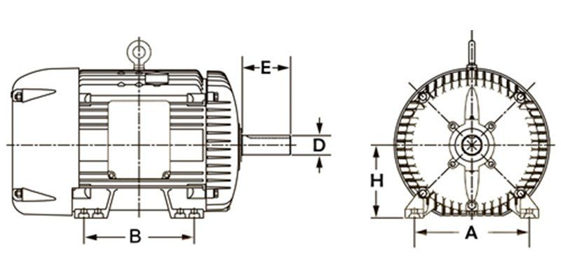 metric-electric-motor-frame-size-chart